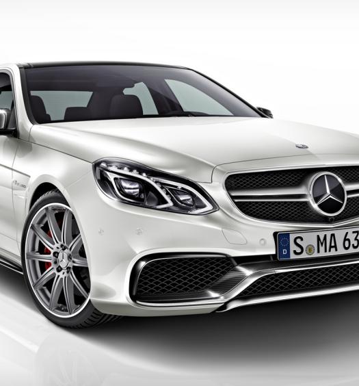 The Brand New Mercedes-Benz E 63 AMG 2013