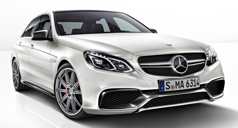 The Brand New Mercedes-Benz E 63 AMG 2013