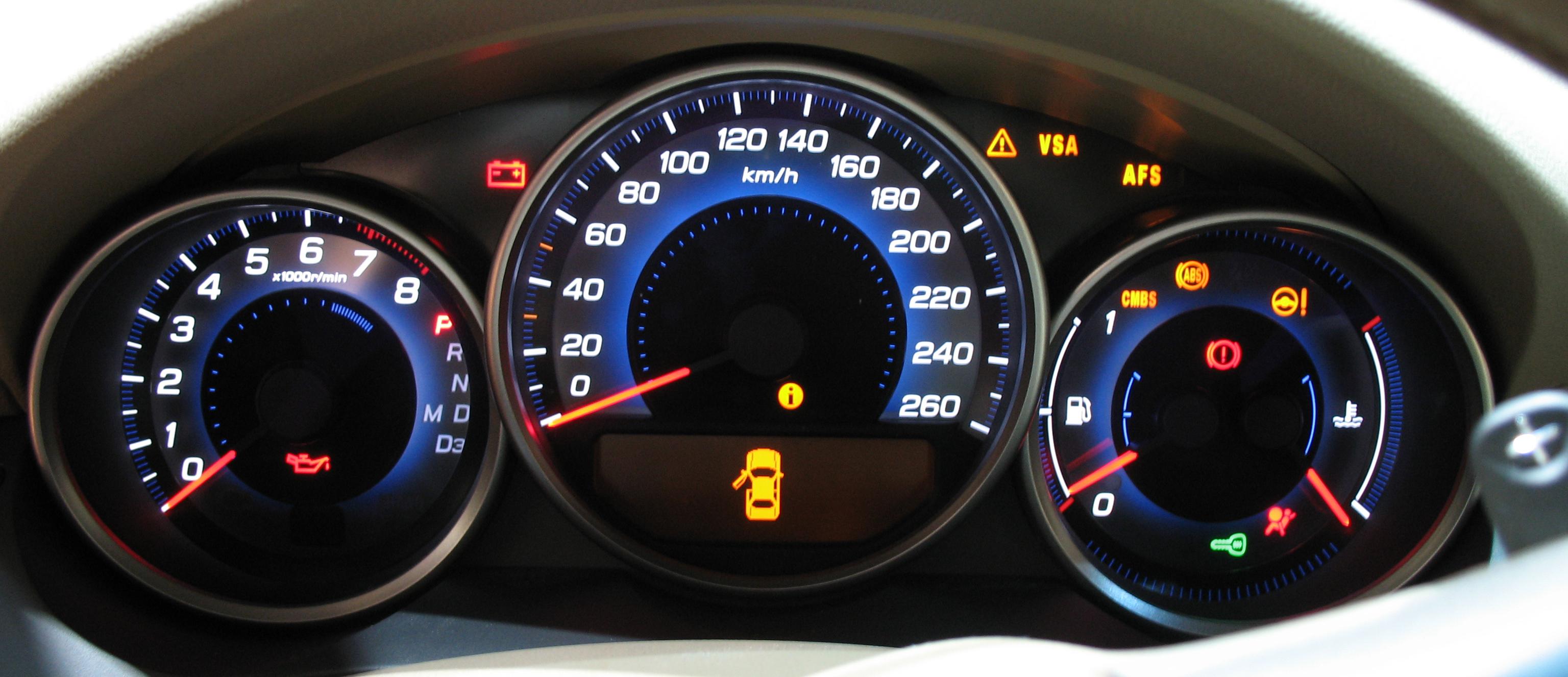Função das principais luzes no painel do carro - Bompreço ...