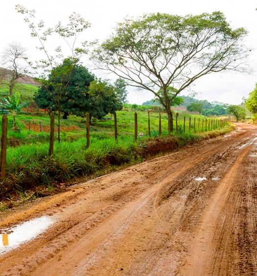 estrada de chão