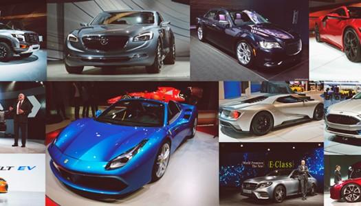 Conheça as novidades apresentadas no Salão do Automóvel Detroit 2016